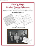 Family Maps of Bradley County, Arkansas (Paperback book cover)