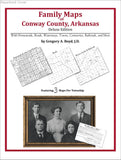 Family Maps of Conway County, Arkansas (Paperback book cover)