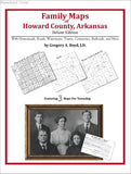 Family Maps of Howard County, Arkansas (Paperback book cover)