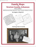 Family Maps of Newton County, Arkansas (Paperback book cover)