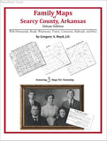 Family Maps of Searcy County, Arkansas (Paperback book cover)