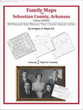 Family Maps of Sebastian County, Arkansas (Paperback book cover)