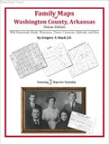 Family Maps of Washington County, Arkansas (Paperback book cover)