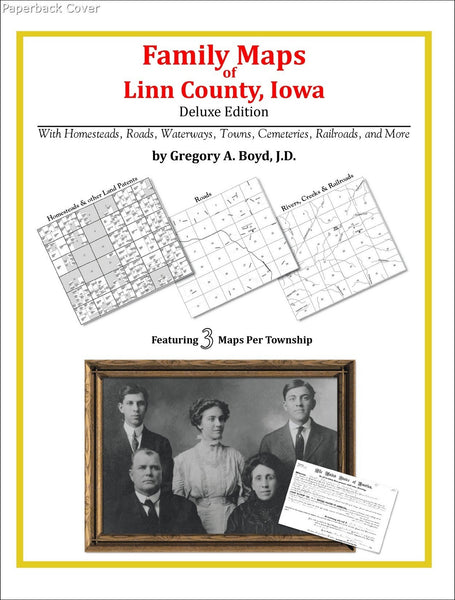 Family Maps Of Linn County Iowa Arphax Publishing Co