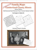 Family Maps of Cumberland County, Illinois (Paperback book cover)