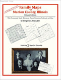 Family Maps of Marion County, Illinois (Paperback book cover)
