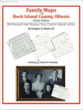Family Maps of Rock Island County, Illinois (Paperback book cover)