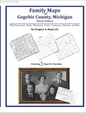 Family Maps of Gogebic County, Michigan (Paperback book cover)
