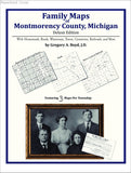 Family Maps of Montmorency County, Michigan (Paperback book cover)