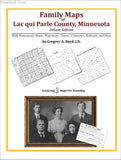Family Maps of Lac qui Parle County, Minnesota (Paperback book cover)