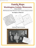 Family Maps of Washington County, Minnesota (Paperback book cover)
