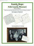 Family Maps of Polk County, Missouri (Paperback book cover)