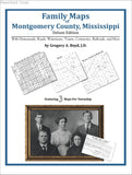 Family Maps of Montgomery County, Mississippi (Paperback book cover)