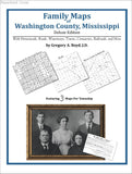 Family Maps of Washington County, Mississippi (Paperback book cover)