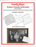 Family Maps of Arthur County, Nebraska (Paperback book cover)