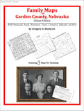 Family Maps of Garden County, Nebraska (Paperback book cover)