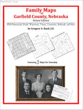 Family Maps of Garfield County, Nebraska (Paperback book cover)