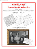Family Maps of Grant County, Nebraska (Paperback book cover)