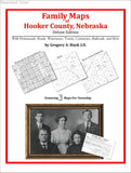 Family Maps of Hooker County, Nebraska (Paperback book cover)