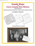 Family Maps of Curry County, New Mexico (Paperback book cover)
