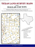Texas Land Survey Maps for Dallas County (Spiral book cover)