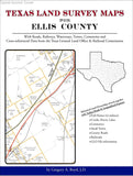 Texas Land Survey Maps for Ellis County (Spiral book cover)