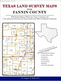 Texas Land Survey Maps for Fannin County (Spiral book cover)