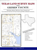 Texas Land Survey Maps for Grimes County (Spiral book cover)