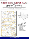 Texas Land Survey Maps for Mason County (Spiral book cover)