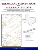 Texas Land Survey Maps for McLennan County (Spiral book cover)