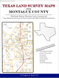 Texas Land Survey Maps for Montague County (Spiral book cover)