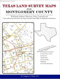 Texas Land Survey Maps for Montgomery County (Spiral book cover)