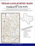 Texas Land Survey Maps for Tarrant County (Spiral book cover)