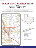 Texas Land Survey Maps for Wise County (Spiral book cover)