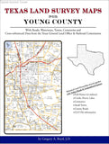 Texas Land Survey Maps for Young County (Spiral book cover)