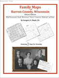 Family Maps of Barron County, Wisconsin (Paperback book cover)