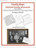 Family Maps of Bayfield County, Wisconsin (Paperback book cover)