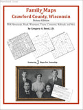 Family Maps of Crawford County, Wisconsin (Paperback book cover)
