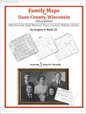Family Maps of Dane County, Wisconsin (Paperback book cover)