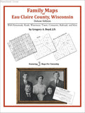 Family Maps of Eau Claire County, Wisconsin (Paperback book cover)