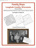 Family Maps of Langlade County, Wisconsin (Paperback book cover)