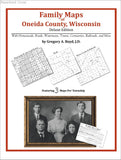 Family Maps of Oneida County, Wisconsin (Paperback book cover)