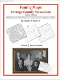 Family Maps of Portage County, Wisconsin (Paperback book cover)