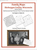 Family Maps of Sheboygan County, Wisconsin (Paperback book cover)