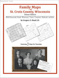 Family Maps of St. Croix County, Wisconsin (Paperback book cover)
