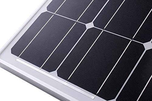 Komaes 400 Watts 24 Volts Monocrystalline Solar Starter Kit with 20A PWM  Charge Controller + 20ft Tray Cable + 20ft MC4 Connectors + Mounting Z
