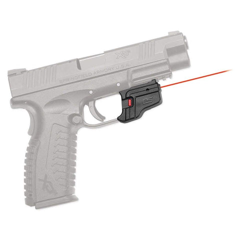 Crimson Trace DS-123 Defender Series Accu-Guard Red Laser Sight for Springfield Armory XD, XD MOD.2 and XD(M) Pistols