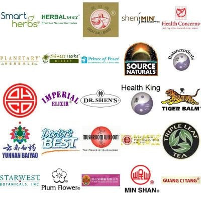 Chinese herb brands