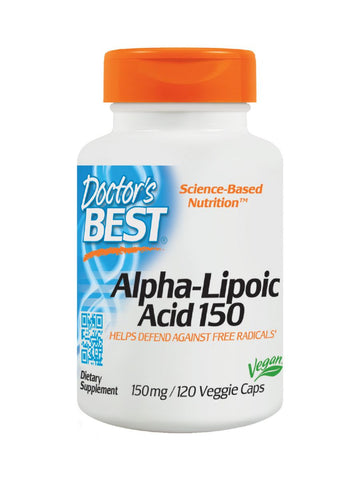 Best Alpha-Lipoic Acid, 150 mg, 120 ct, Doctor's Best