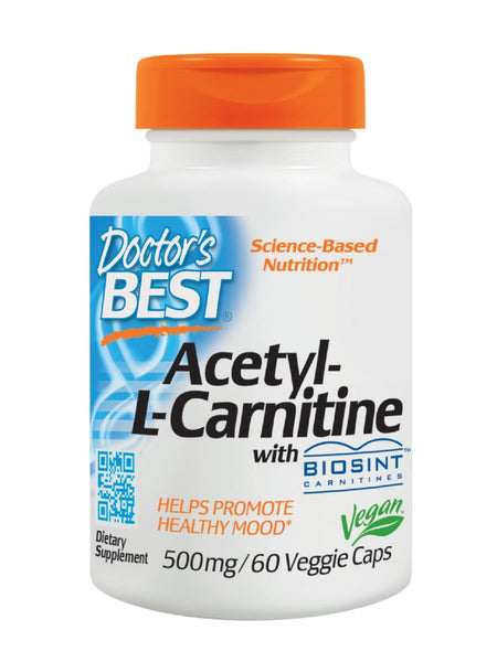 Best Acetyl-L-Carnitine HCl featuring Sigma Tau Carnitine, 588 mg, 60 ct, Doctor's Best
